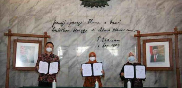 Menjawab Kebutuhan Masyarakat: UI, PT Etana Biotechnologies Indonesia, dan PT Pertamina Bina Medika IHC Membangun Kemitraan Penelitian dan Pengembangan Obat Berbasis Bioteknologi
