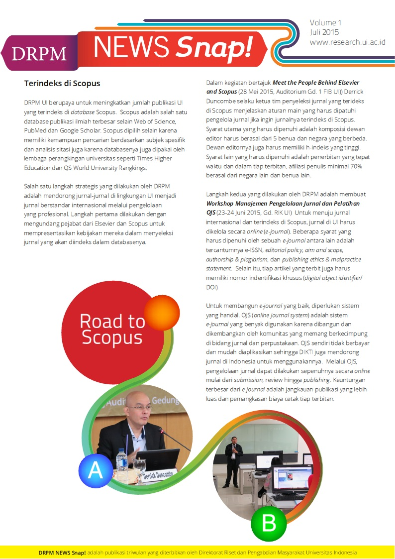 DRPM News Edisi 1