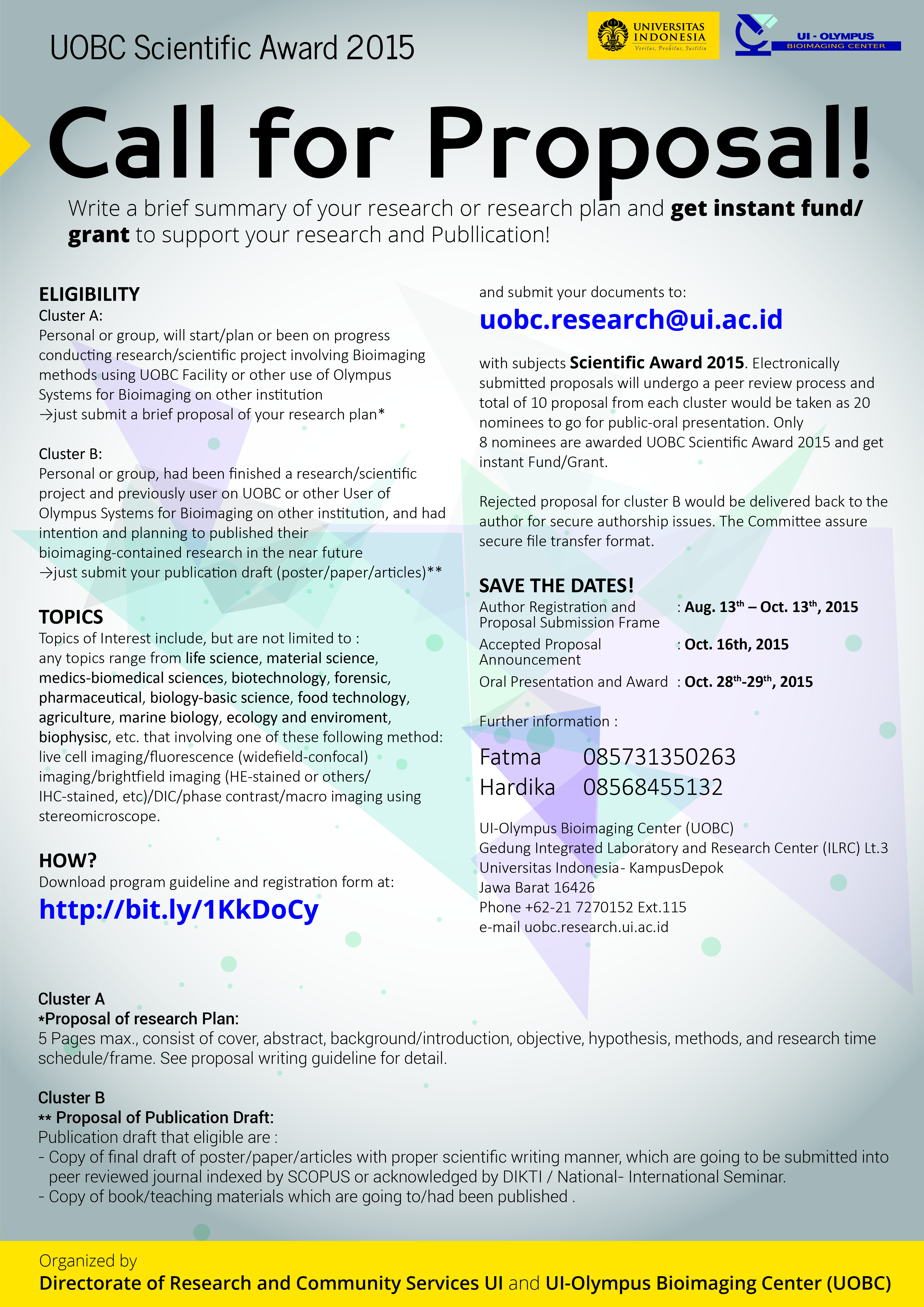 Poster UOBC-02